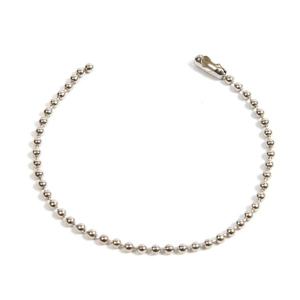 150mm (6 inch) Round 2.4mm Ball Chain with Connector (CB2.4-150) Thumbnail