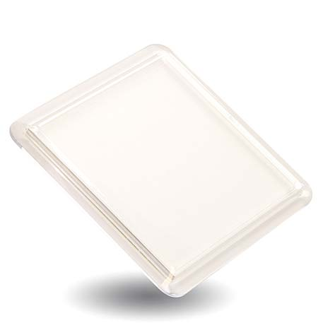 CS02 Square Blank Plastic Photo Insert Coaster - 80 x 80mm Thumbnail