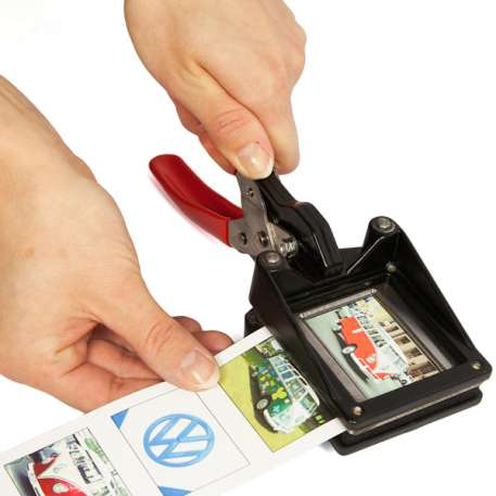 40mm x 32mm Hand Held Photo ID Cutter Punch (CUT40-32) Thumbnail
