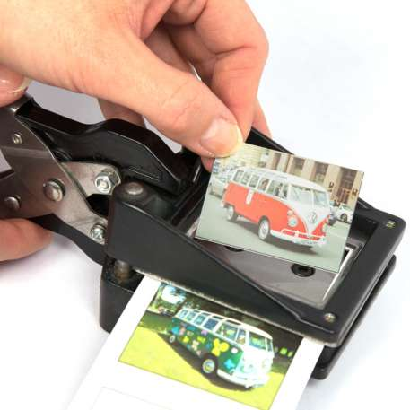 45mm x 35mm Hand Held Photo ID Cutter Punch (CUT45-35) Thumbnail