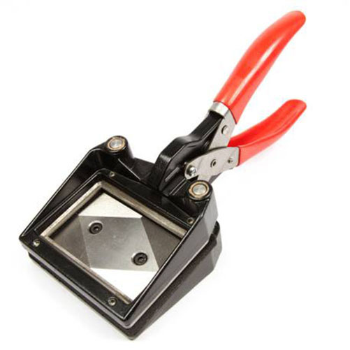 70mm x 45mm Hand Held Photo ID Cutter Punch (CUT70-45)