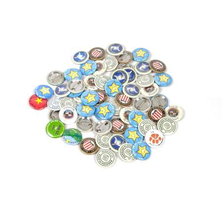 25mm Round G Series Button Pin Badge Machine (G212-25) Thumbnail