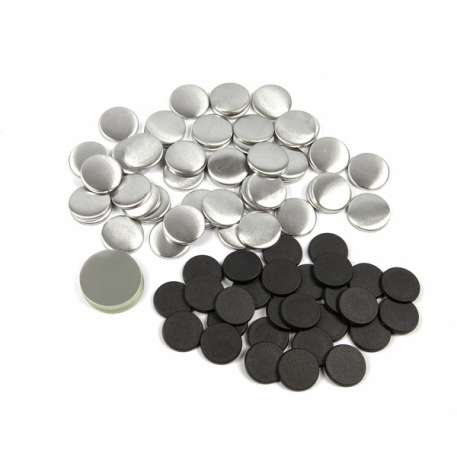 25mm Round G Series Magnetic Button Badge Components (G25MAG)