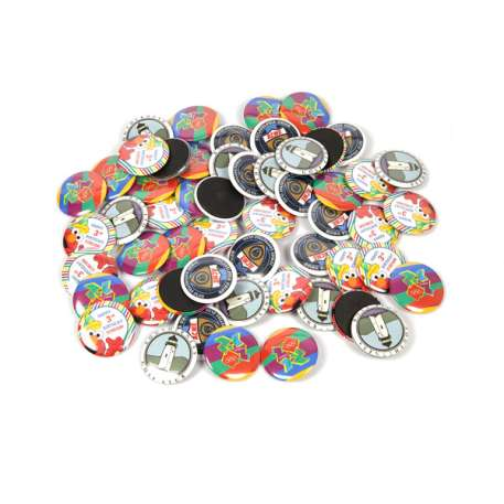 31mm Round G Series Magnetic Button Badge Components (G31MAG) Thumbnail
