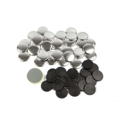 31mm Round G Series Magnetic Button Badge Components (G31MAG)