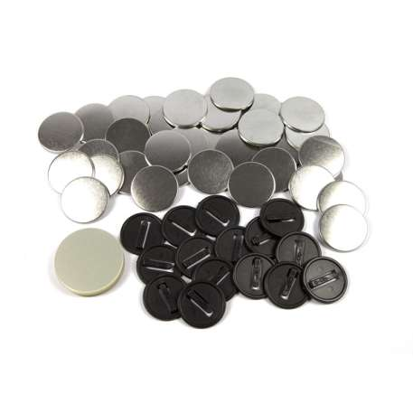 38mm Round G Series Safety Button Badge Components (G38SAF)
