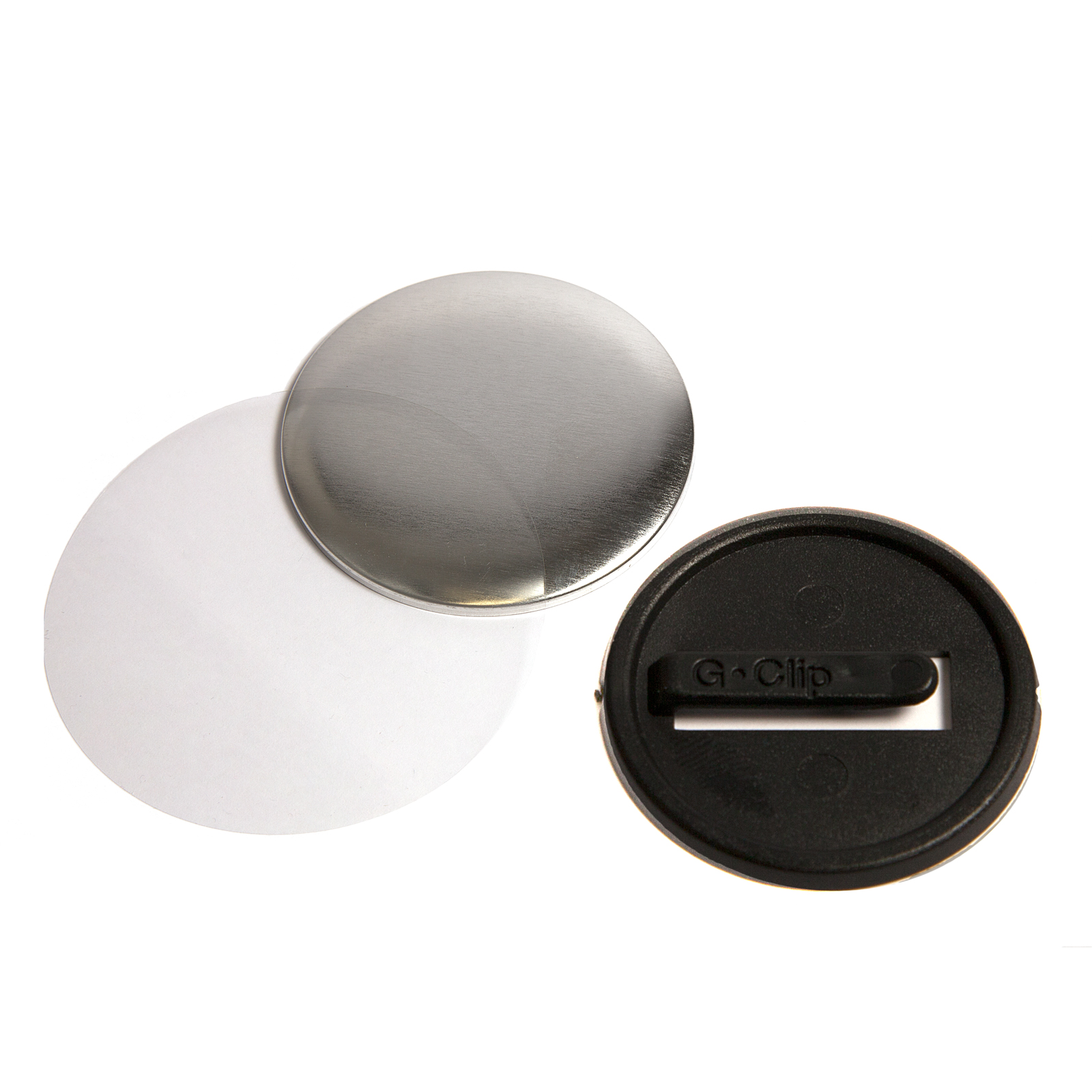 G Series 38mm Safety Button Badge Components
