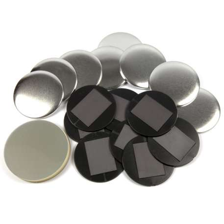 75mm Round G Series Magnetic Button Badge Components (G75MAG)