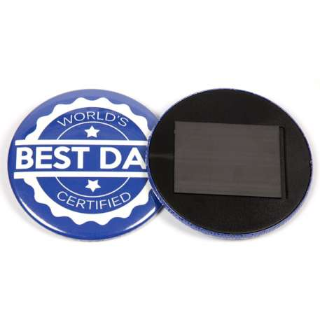 75mm Round G Series Magnetic Button Badge Components (G75MAG) Thumbnail