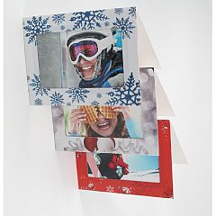 Blank 102mm x 152mm Christmas Greeting Cards - Pack of 6