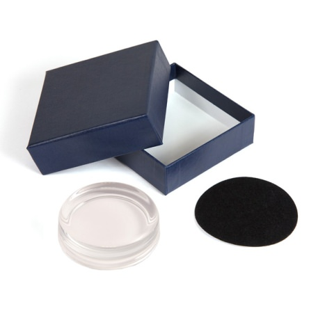 GP1 Blank 70mm Diameter Glass Paperweight, Base & Box