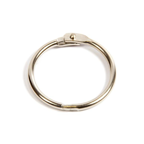32mm Nickel Plated Hinged Joining Book Ring (RH32N)
