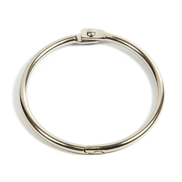 51mm Nickel Plated Hinged Joining Book Ring (RH51N)