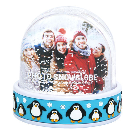 70mm x 62mm Blank Penguin Snow Dome (SD2-PENGUIN)