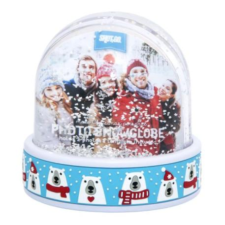 70mm x 62mm Blank Polar Bear Snow Dome (SD2-POLAR-BEAR)