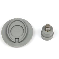25mm Round C25 Keyringfab Assembly Tool to suit MP-25D Keyring (UM-MP)