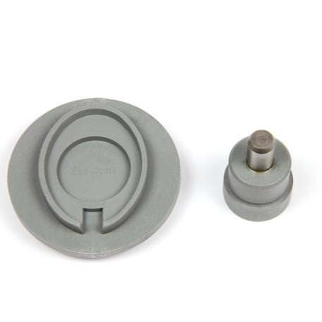25mm Round C25 Keyringfab Assembly Tool to suit MP-25D  and MZ-25-COIN Keyring