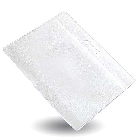101mm x 63mm Clear PVC ID Badge Wallet (WP3C) Thumbnail
