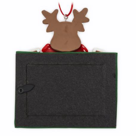 70mm x 45mm Blank Reindeer Christmas Tree Ornament (XORN2-REINDEER) Thumbnail