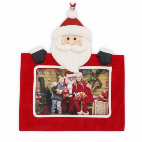 70mm x 45mm Blank Father Christmas Santa Tree Ornament (XORN2-SANTA)