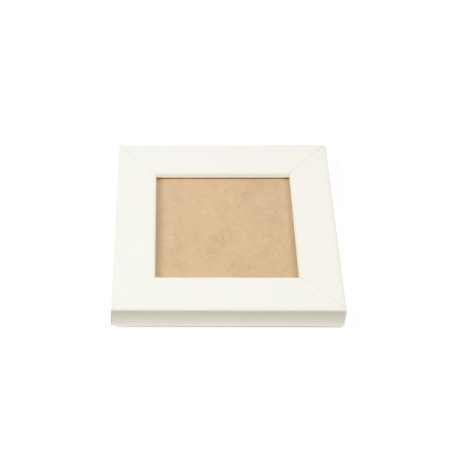 Blank 90mm x 90mm Picture Frame - White