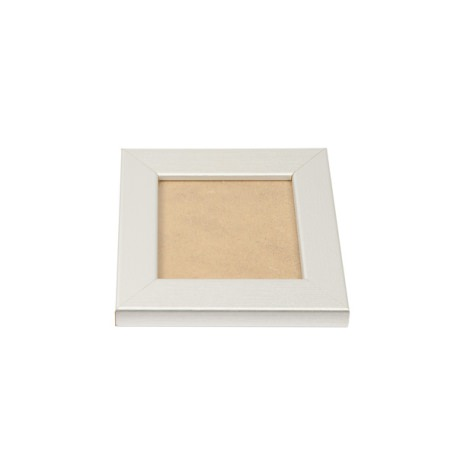Blank 90mm x 90mm Picture Frame - Silver