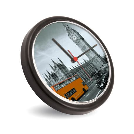 AC02 Blank 230mm (9 inch) Diameter Wall Clock - Black Thumbnail