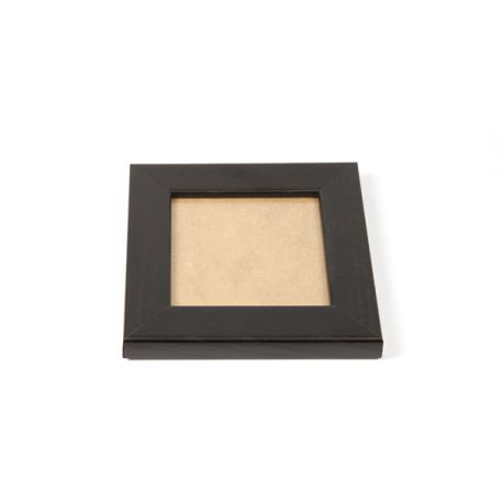Blank 90mm x 90mm Picture Frame - Black