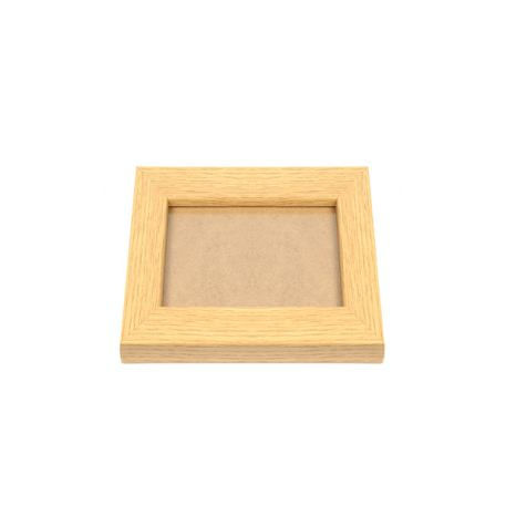 Blank 90mm x 90mm Picture Frame - Oak