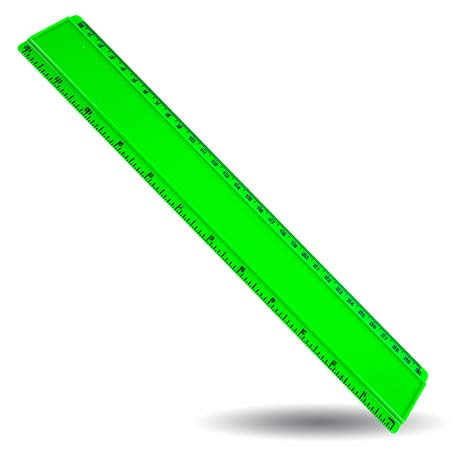 T12 Blank 12in Ruler Coloured - Green Thumbnail