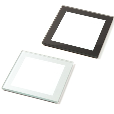 IC03 Mixed Square 80mm Blank Glass Photo Insert Coaster @ My ...