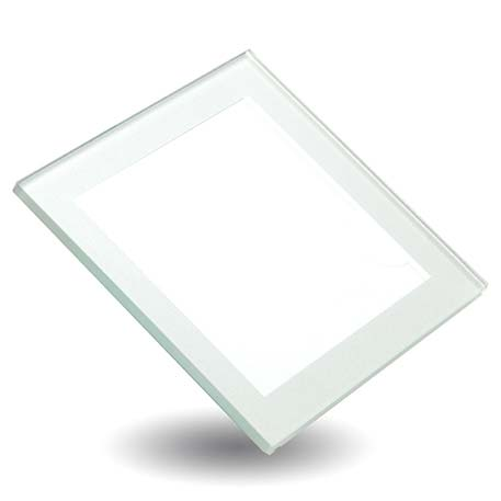 Silver Square Blank Glass Photo Insert Coaster - 80 x 80mm (IC03) Thumbnail
