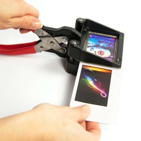 60mm x 35mm Hand Held Photo ID Cutter Punch for IP03 Pen (CUT-IP03) Thumbnail