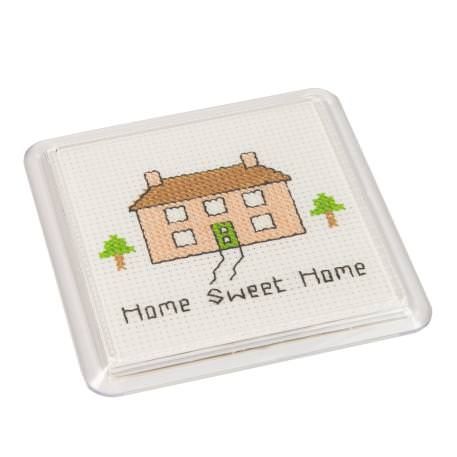 Square 80mm Blank Plastic Cross Stitch Insert Coaster