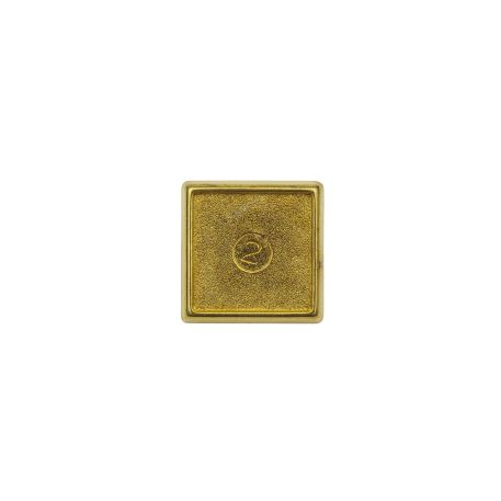 15mm Square Butterfly Pin Back Gold Metal Blank Badge (PIN-10G-BADGE) Thumbnail