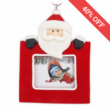 Christmas Santa Ornament Personalise Free Delivery Over 100