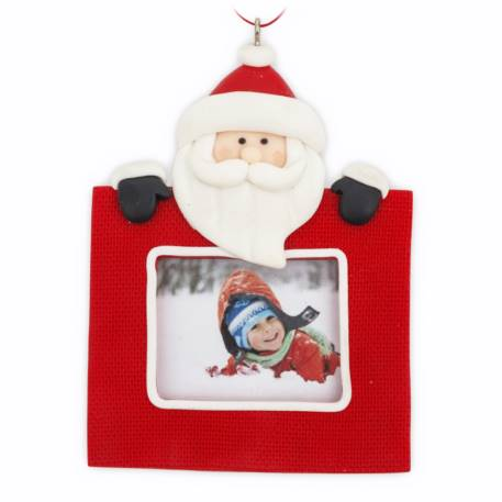 Blank Santa Christmas Tree Ornament Insert Size 45mm x 35mm