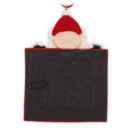 Blank Santa Christmas Tree Ornament Insert Size 45mm x 35mm Thumbnail