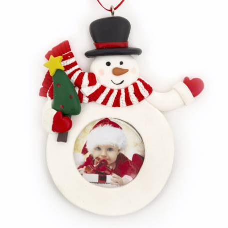 Blank Snowman Christmas Tree Ornament Insert Size 41mm