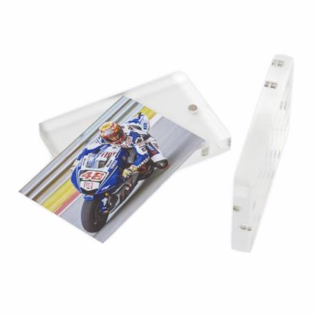 Blank Acrylic Magnetic Photo Frame Block Insert 70 x 45mm (2.7 x 1.7 inch) Thumbnail