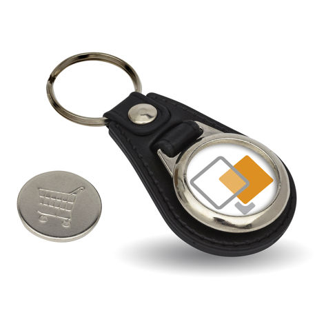MD25-COIN-KEYRING STARTER PACK. Includes Machine, Cutter, Assembly Tool and 25 FREE Keyrings Thumbnail