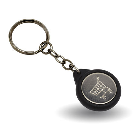 G Series 25mm Badge Keyring With Trolley Coin Thumbnail