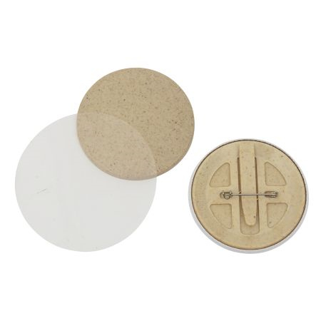 56mm Round G Series Bio Button Pin Back Components Thumbnail