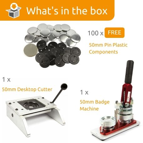 G Series 50mm Magnet Starter Pack- Includes Machine, Desktop Cutter and 100 FREE components Thumbnail