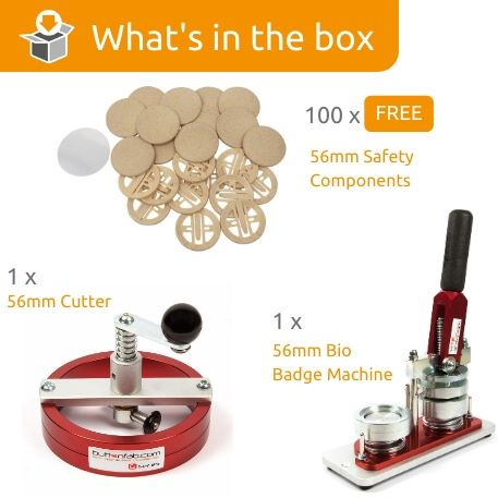 G Series 56mm Bio safety Back Starter Pack- Includes Machine, Cutter and 100 FREE components